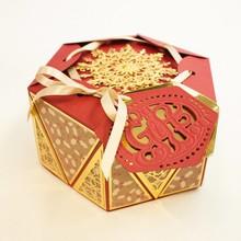 TONIC Estampado y grabado en relieve de plantilla: Favor diamante La caja de apretón