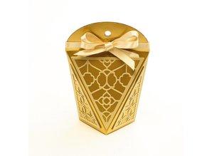 TONIC Stempling og prægning skabelon: Diamond Favor Klem Box