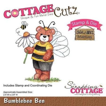 Cottage Cutz NY stempling stencil stempel +: Bumblebee Chloe