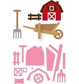 Marianne Design plantilla de perforación: Conjunto granja de Eline