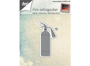 Joy!Crafts Perforación tema plantilla: Extintor de agua