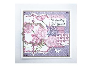 Marianne Design Punching template: Basic, Classic square