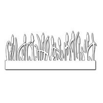 plantilla de perforación: hierba Frontera
