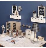 Objekten zum Dekorieren / objects for decorating Robuster Container mit 6 Fächern und 1 Schublade