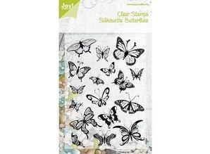 Joy!Crafts Gennemsigtig stempel, sommerfugle