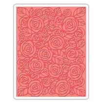 mappen, rozen embossing van Tim Holtz - Textuur Fades