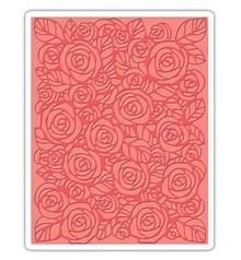 Tim Holtz Gofrado carpetas, rosas de Tim Holtz - Textura Fades