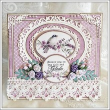 DESIGNERPAPIER VON PION DESIGN AUS SCHWEDEN PION DESIGN: Set In Provence - Scent of Lavender