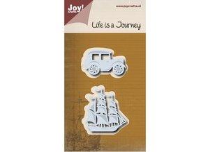 Joy!Crafts Skæring dør: Journey - Sailboat & veteranbiler