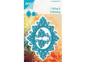 Joy!Crafts La perforación de la plantilla: Ovale y 2 esquina