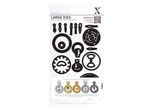 X-Cut / Docrafts Cutting dies: Chronology Collection