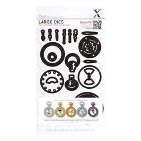 X-Cut / Docrafts Skæring dør: Kronologi Collection