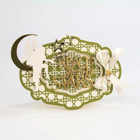 TONIC Stansejern: Deco oval Trellis (størrelse: 168 x 118 mm)