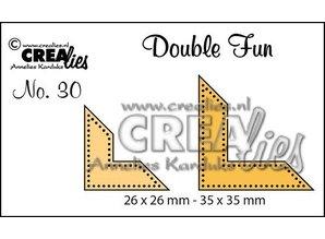 Crealies und CraftEmotions Stan: plantillas puntos de esquina