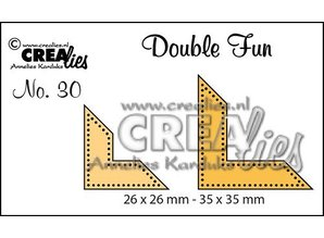 Crealies und CraftEmotions Stan templates: corner points