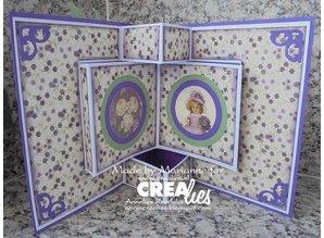 Crealies und CraftEmotions Stan skabeloner: hjørne