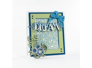 TONIC Cutting dies: Deco frame flower