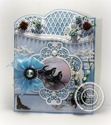 Joy!Crafts Punzonatura modello: Bordo e fiori