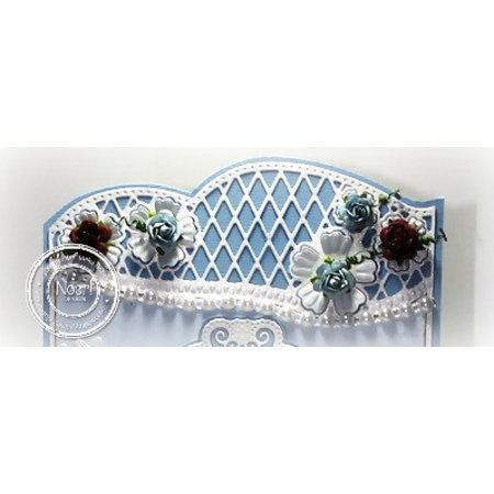 Joy!Crafts Stanzschablone: Bordüre und Blumen