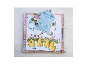 Marianne Design Transparent Stamp: cute ducklings