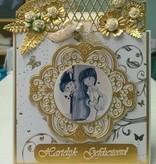 Marianne Design Stanzschablone: Vintage Zierrahmen und Ecke