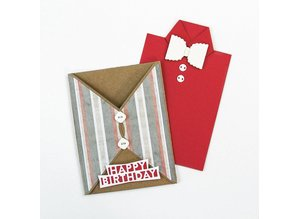 TONIC Stamping and pre-template: Envelope, for A6 cards