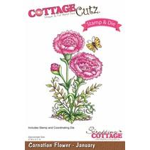 NEW stamping stencil stamp +: Flower