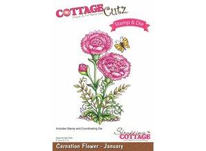 Cottage Cutz NEW stamping stencil stamp +: Flower