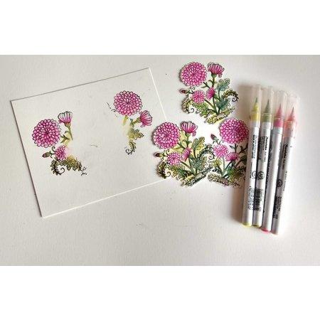 Cottage Cutz NY stempling stencil stempel +: Flower