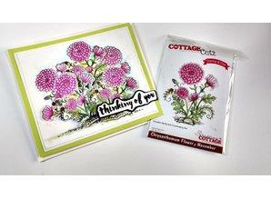 Cottage Cutz NEU Stanzschablone + Stempel: Flower