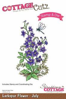 Cottage Cutz NUOVO stampaggio stencil bollo +: Fiore