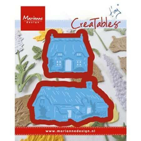 Marianne Design Stansning jig Tiny s Cottages