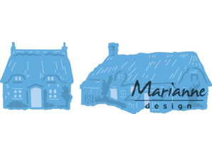 Marianne Design Punching jig Tiny's Cottages