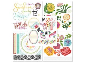 Embellishments / Verzierungen Frote en el libro con 5 hojas