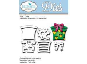 Elisabeth Craft Dies Punching template: Gifts