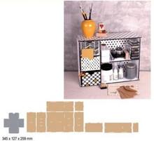 Crealies und CraftEmotions MDF 3D sorting module