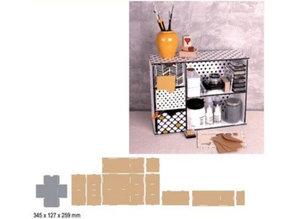 Crealies und CraftEmotions MDF 3D sortering modul