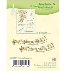 Leane Creatief - Lea'bilities timbro trasparente: la notazione musicale