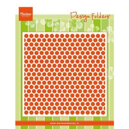 Marianne Design carpetas de repujado: Amores, puntos