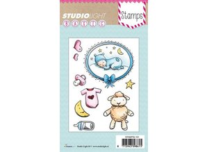 Studio Light Transparent stempel: Baby