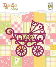 Nellie snellen Punching template: stroller
