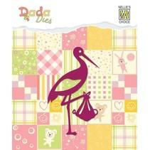 Ponsen sjabloon: Stork