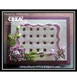 Crealies und CraftEmotions Plantilla: Rand