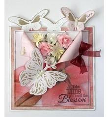 Joy!Crafts Punzonatura modello: taglio, goffratura e Debossing: Farfalle
