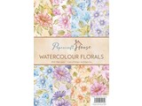 Wild Rose Studio`s A4 Paquet papier aquarelle, fleurs 40 feuilles