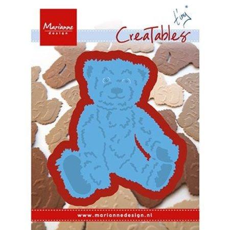 Marianne Design plantilla de perforación: Tiny oso de peluche