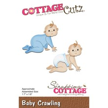 Cottage Cutz Punching template: Baby