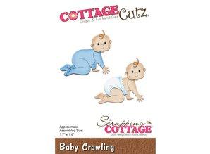 Cottage Cutz plantilla de perforación: Bebé