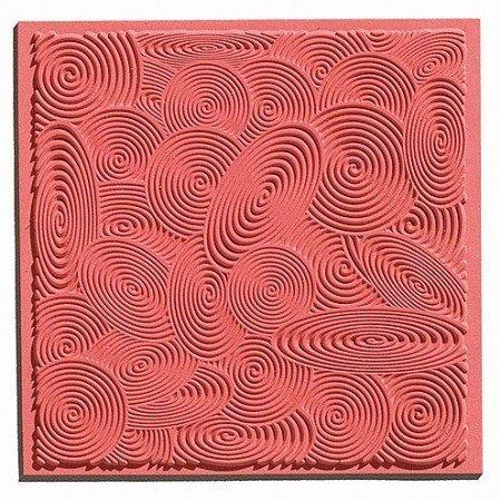 1 Espirales estera textura, 90 x 90 mm