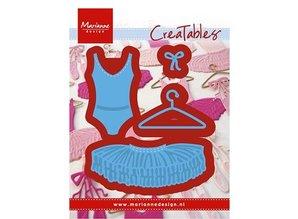 Marianne Design Stamping template: Ballet dress